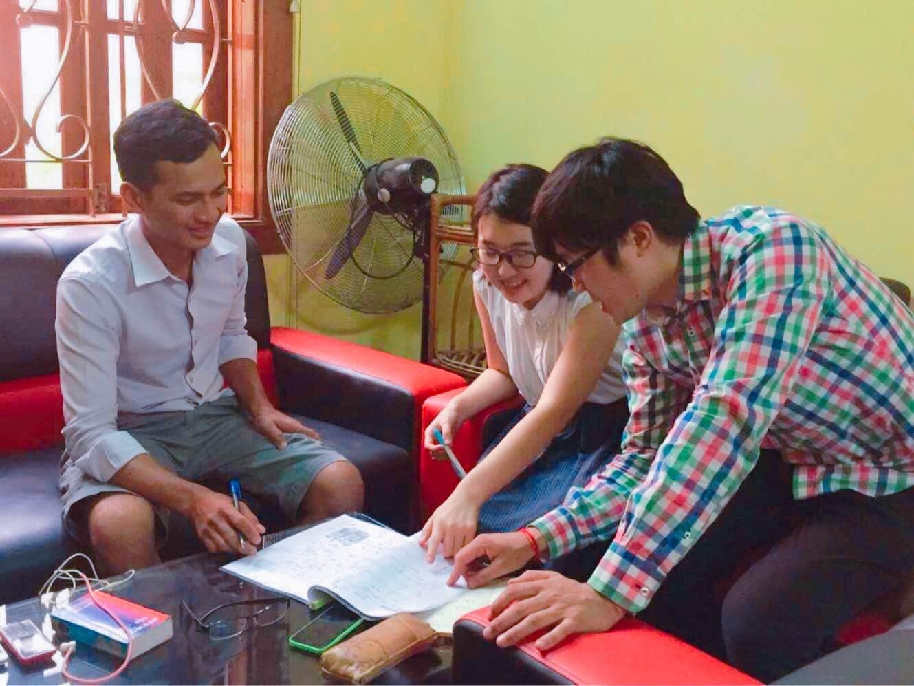 【NyoNyumインターン日記⑰】Let's study Khmer & Japanese!