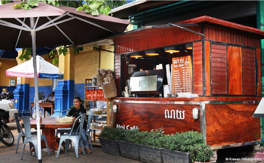 Siem Reap's Latest Trend: Espresso Coffee Stands  Siem Reap INFO Vol.7 … Trendy Cafe Stand