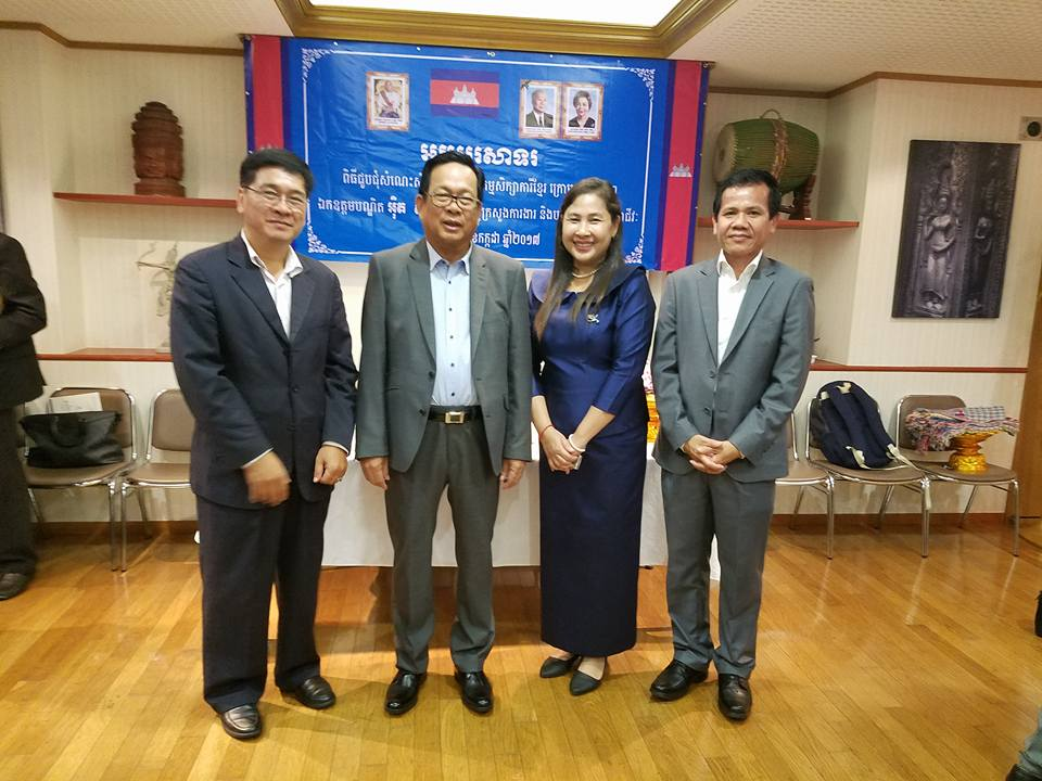 Cambodians Spreading Their Wings in Japan ⑤Working in Japn(Secretary of the Embassy of Cambodia)