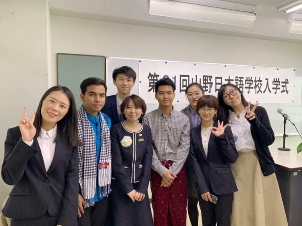 Cambodians Spreading Their Wings in Japan ①Student of Japanese Language School