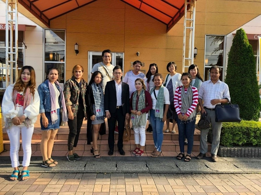 Cambodians Spreading Their Wings in Japan ⑥Training in Japn
