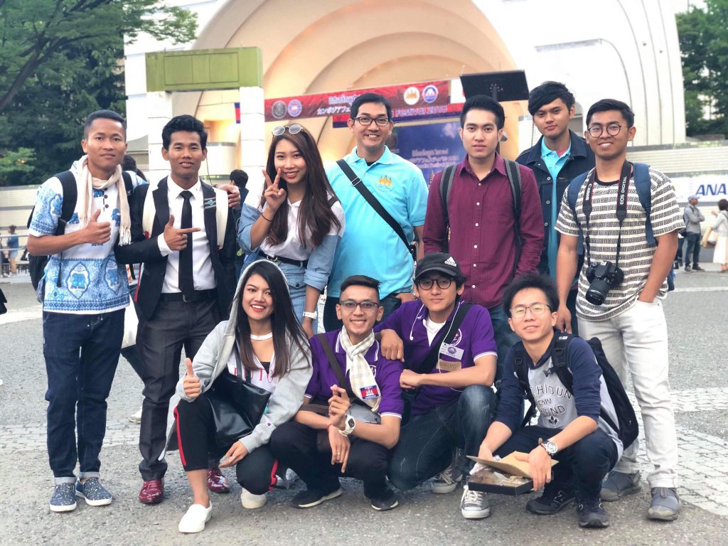 Cambodians Spreading Their Wings in Japan ②Student of Graduate School