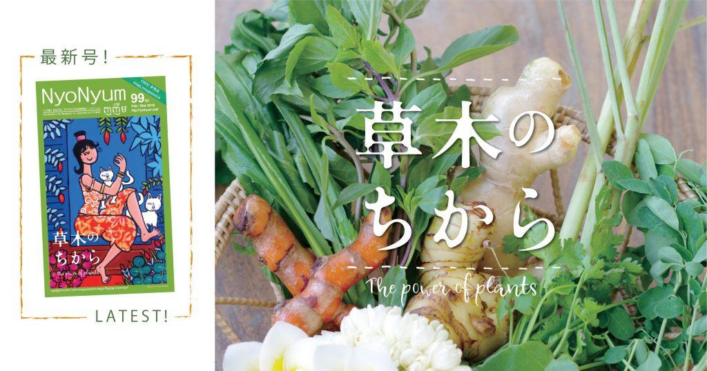 最新号『ニョニュム』99号発行のお知らせ