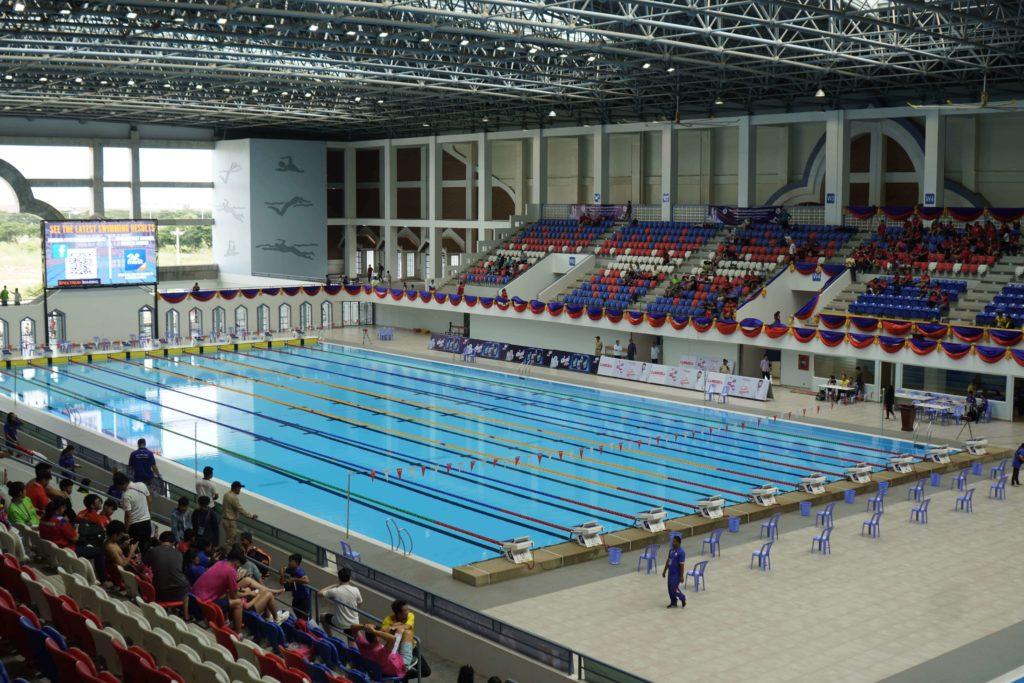 (日本語) 【現地レポート】カンボジア初の水泳の国際大会1日目