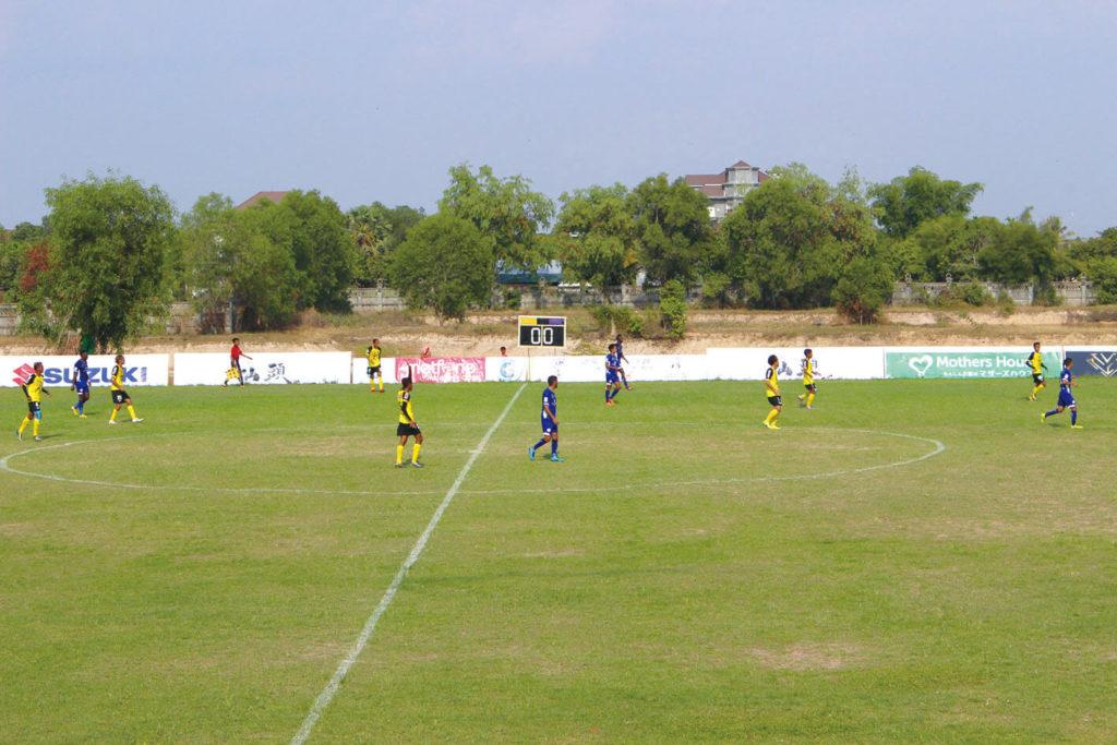 NyoNyum No.101  Find another Siem Reap ①Siem Reap stadium