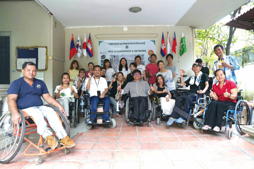 (日本語) 【#value!カンボジア人社会起業家紹介】障がい者の自立生活センター 「PPCIL」を設立したサミスさん