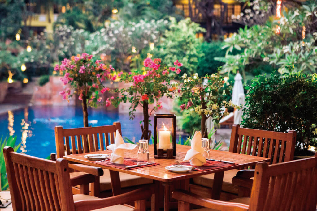 A Little Luxury at Hotel in Siem Reap