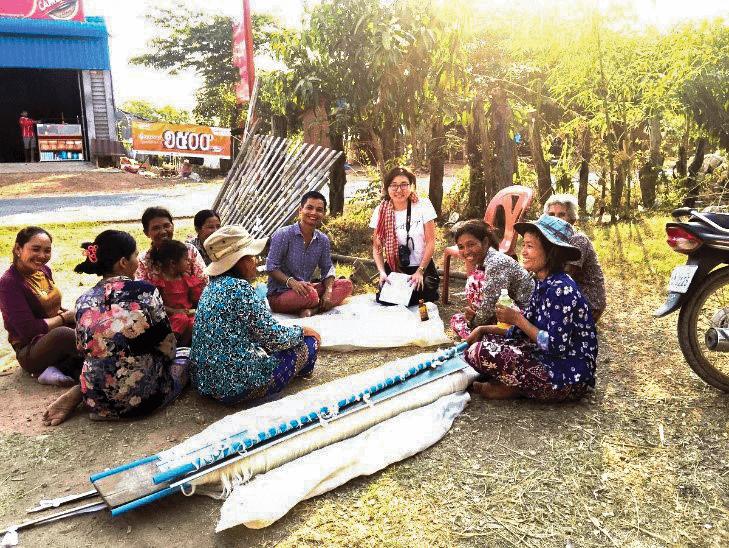 (日本語) 【#value!②】布作りを通じて村の貧困問題の解決と女性のサポート