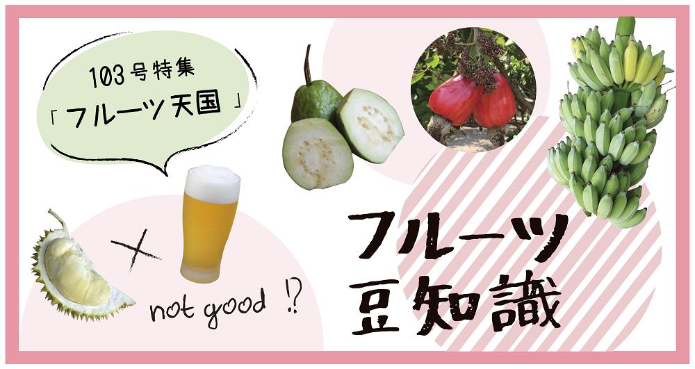 (日本語) NyoNyum103号フルーツ特集 カンボジアフルーツ豆知識