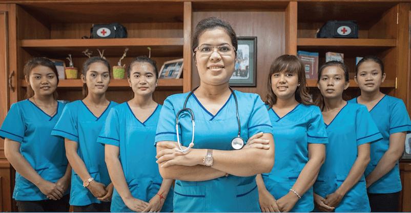 (日本語) カンボジア在宅看護・介護ビジネスのパイオニア、フィルムさん
