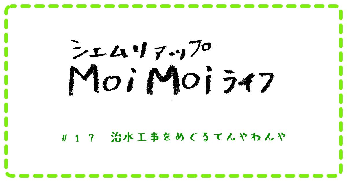 (日本語) Moi Moi ライフ #17 治水工事をめぐるてんやわんや