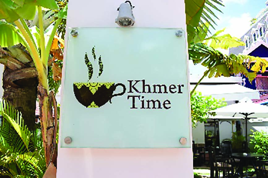 (日本語) シェムリアップの注目最新情報!アンコールクッキーの「Café Khmer Time」でレトロ洋食はいかが?