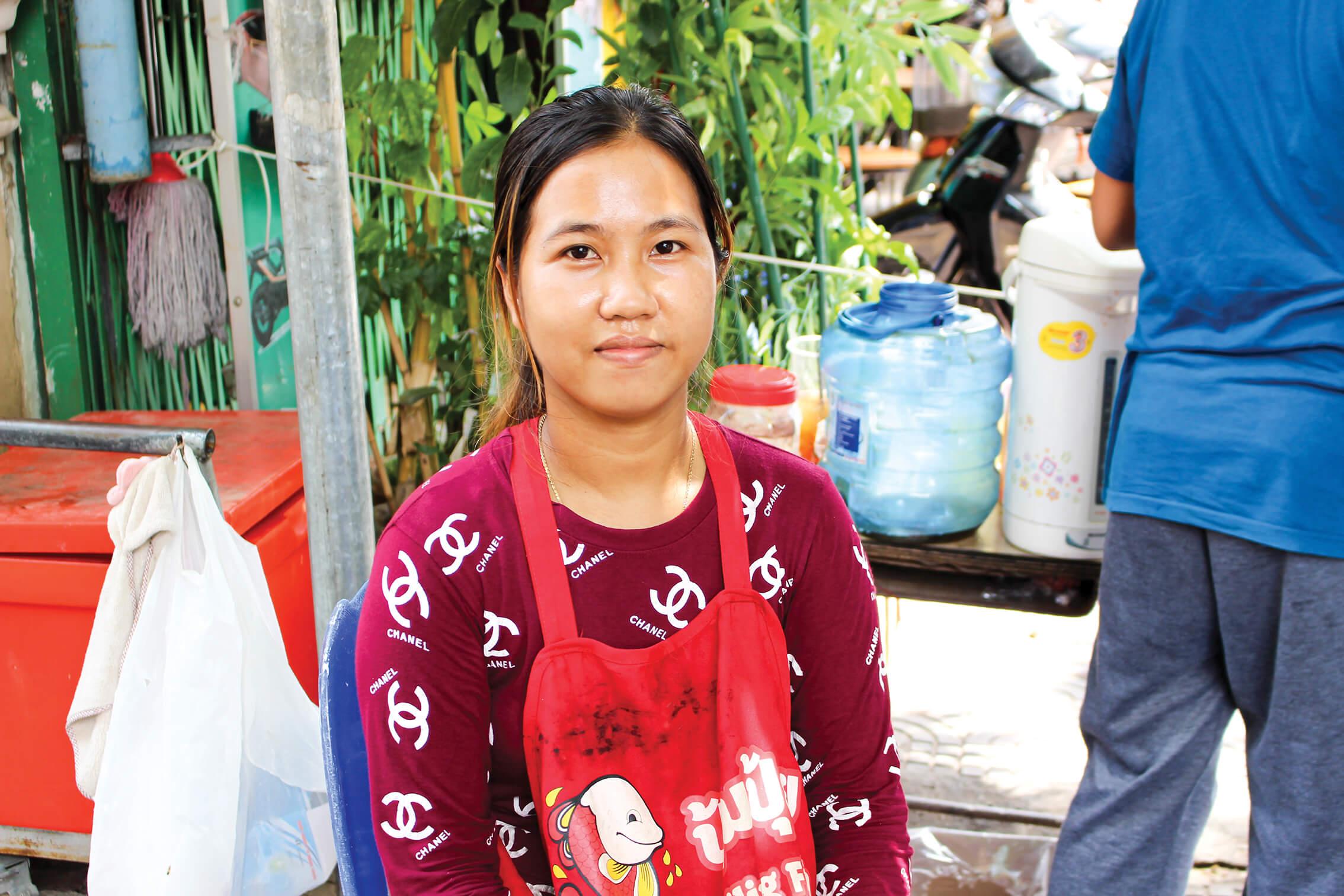 【カンボジア人のお仕事紹介64】路上のコーヒー販売